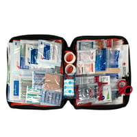 First Aid Only Outdoor First Aid Kit, Fabric Case, 204 Pc
