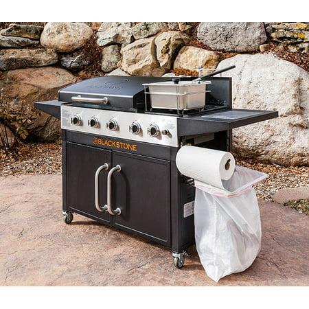 Char Griller Dual 2 Burner Charcoal Amp Gas Grill Black