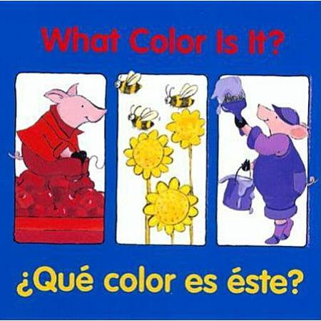 What Color Is It? / ¿Qué color es éste? ()