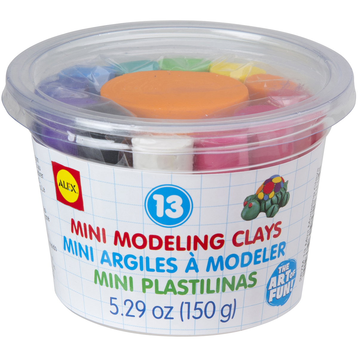 ALEX Toys Artist Studio 13  Mini Modeling Clays
