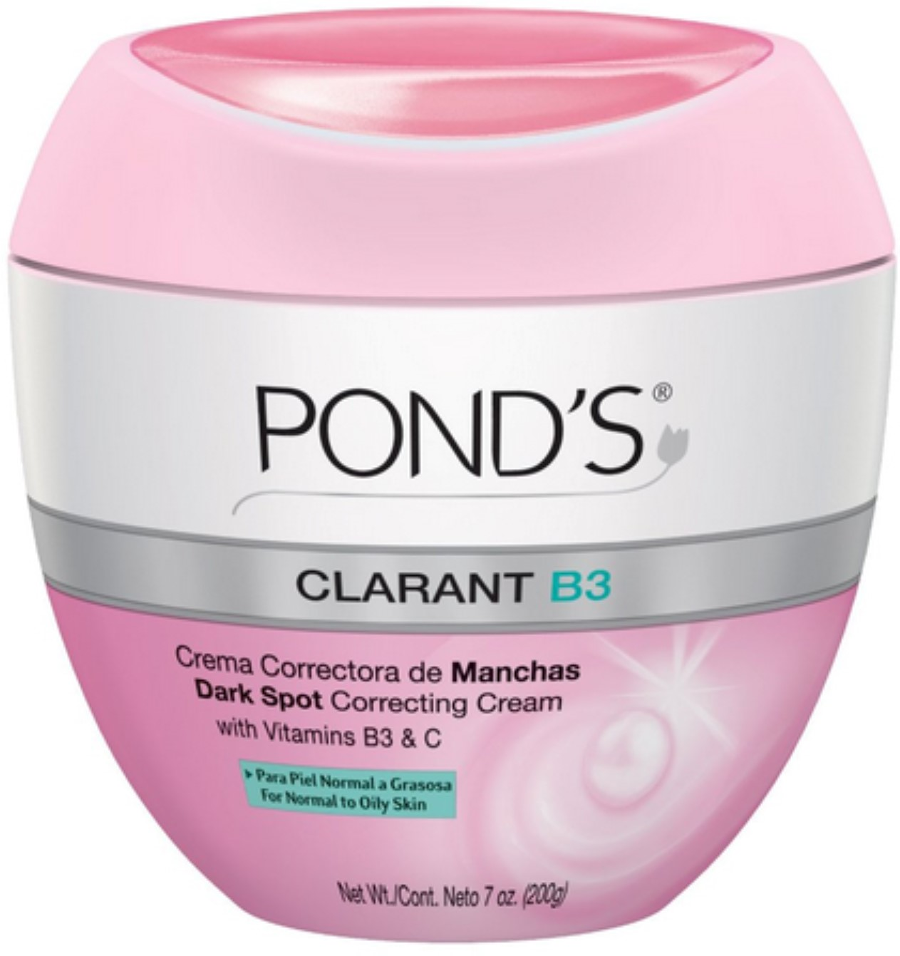 Pond's Clarant B3 Anti-Dark Spot Moisturizer Normal to Oily Skin 7oz (Pack of 3)