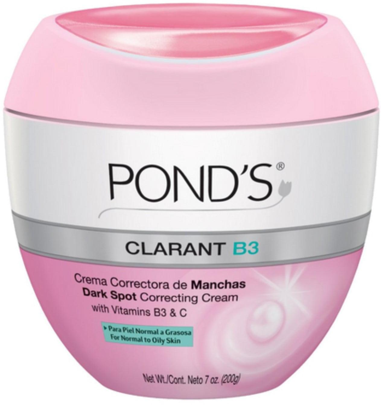 Pond's Clarant B3 Anti-Dark Spot Moisturizer Normal to Oily Skin 7oz (Pack of 3)
