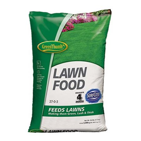 Image of Knox Fertilizer 225484 Green Thumb 5000 sq ft. Coverage Lawn Food