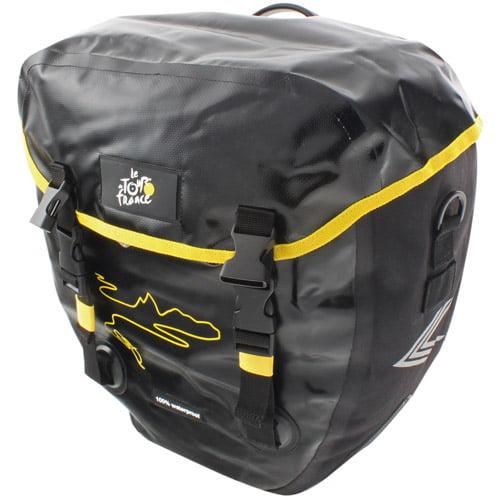 Tour de France Waterproof Bicycle Side Bag, Large