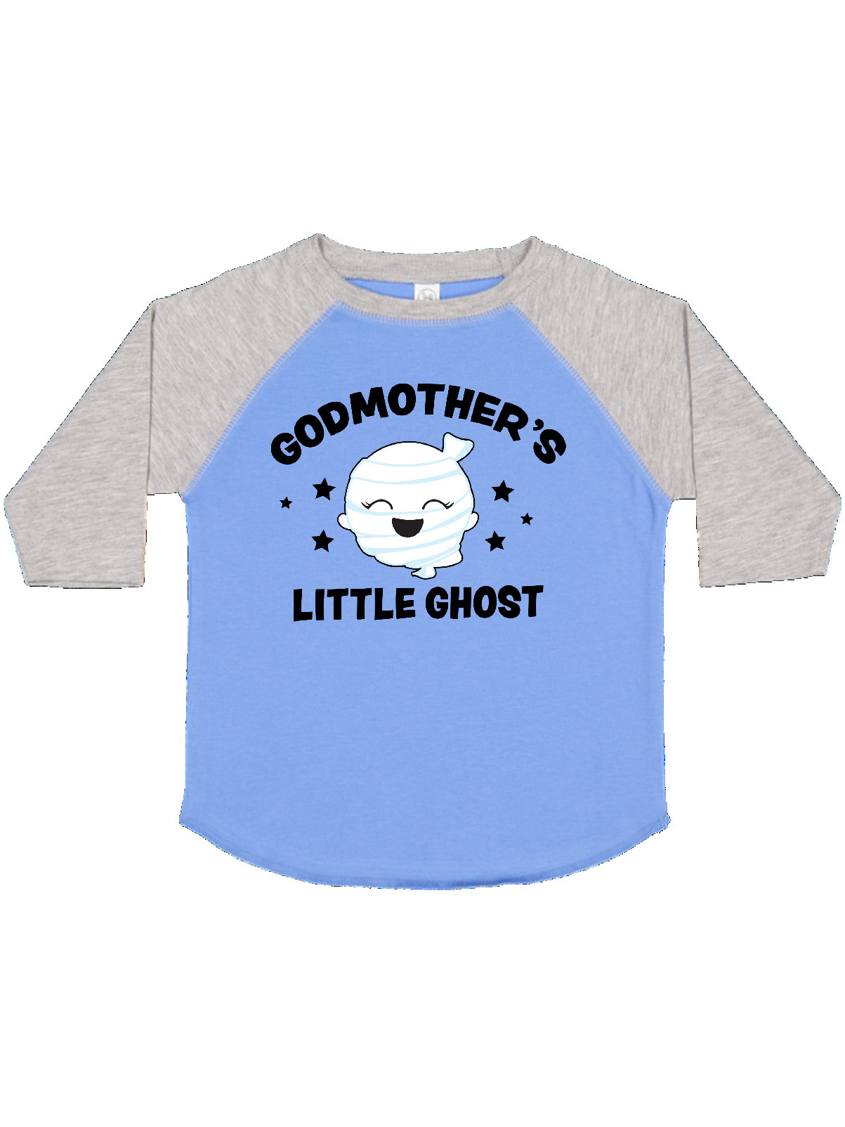 inktastic Cute Godmothers Little Ghost with Stars Baby T-Shirt
