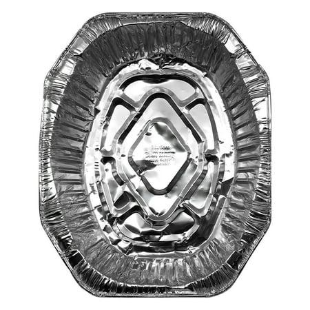 Mainstays Aluminum Durable Foil Oval Roaster