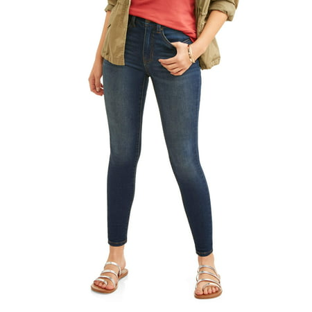 Time and Tru Women's Core High Rise Skinny Jean