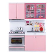 Mgaxyff Kitchen Play Toys, Kitchen Role Play Toys,Mini Kitchen Pretend Role Play Toy Set Funny Kitchenware Playing House Gifts for Children Girls