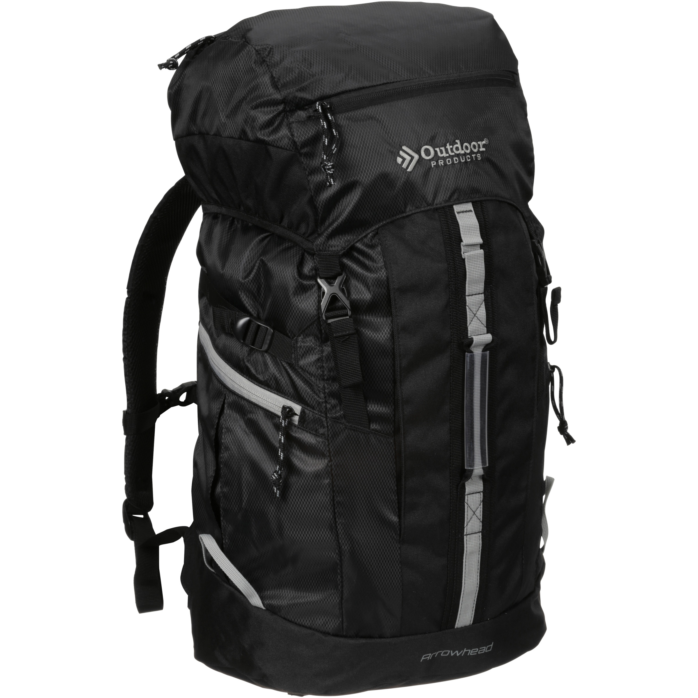 Outdoor® Products Arrowhead 8.0 Backpack, Black/Griffin