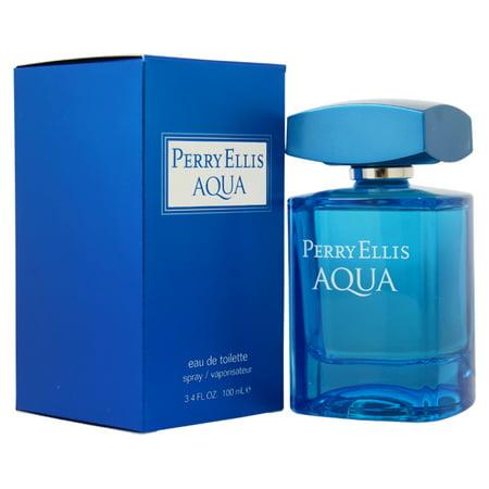 Perry Ellis Aqua by Perry Ellis for Men - 3.4 oz EDT Spray - image 1 of 1