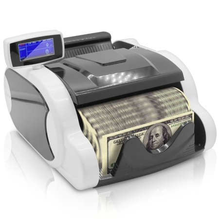 PYLE PRMC120 - Bill Counter - Money Counting Machine with Counterfeit