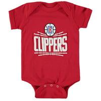 LA Clippers Nike Newborn & Infant Primary Logo Bodysuit - Red