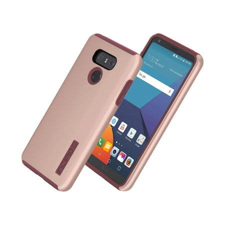 low priced 19601 827a5 Incipio DualPro Case for LG G6 in Iridescent Rose Gold