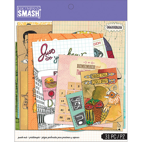 SMASH Punch, Out Assortment, 31pk