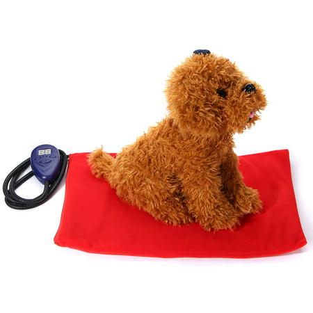 Pet Heated Bed Warmer Pet Dog Cat Electric Heating Pad Outdoor Indoor Waterproof