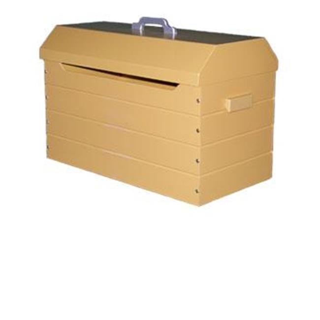 Just Kids Stuff Tool Box Toy Chest Yellow by Just Kids Stuff