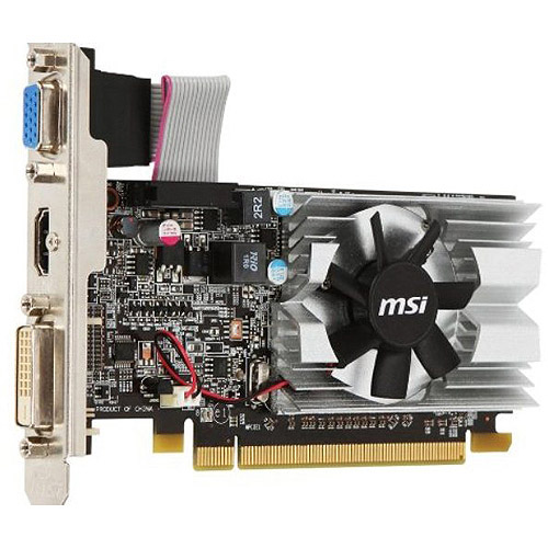 MSI ATI Radeon HD6450 1GB DDR3 Low Profile PCI-Express Video Card