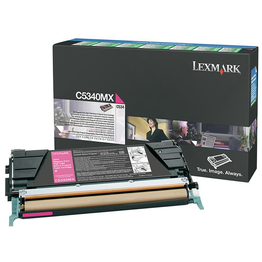 Lexmark C534 Magenta Extra High Yield Return Program Toner Cartridge