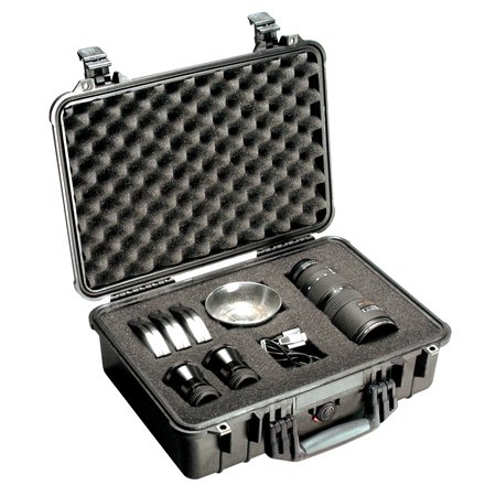 Pelican 1500 Case with Padded Divider