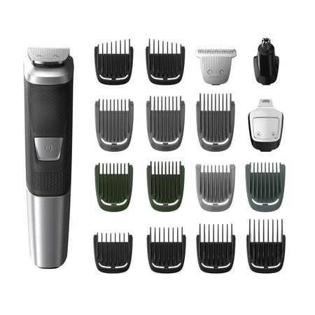 Philips Norelco Multigroom 5000, 18 attachments (Philips Norelco All In One Multigroom Pro Trimmer)