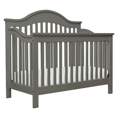 DaVinci Jayden 4-in-1 Convertible Crib in Slate Finish Da Vinci Alpha Baby Crib