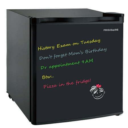 Frigidaire 1.6 Cu Ft Eraser Board Mini Fridge, Black