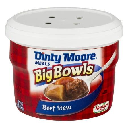 DINTY MOORE; Big Bowls Beef Stew 15 oz. MICROWAVE BOWL