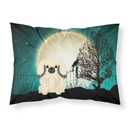 Halloween Scary Pekingnese Cream Fabric Standard Pillowcase BB2296PILLOWCASE