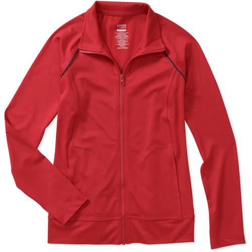 Danskin Now Women's Raglan Piped Track Jacket