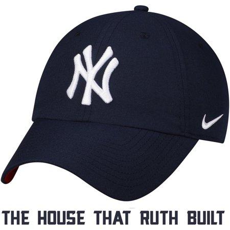New York Yankees Nike Heritage 86 Stadium Independence Day Adjustable Hat - Navy - OSFA - 4th Of July Baseball Hats