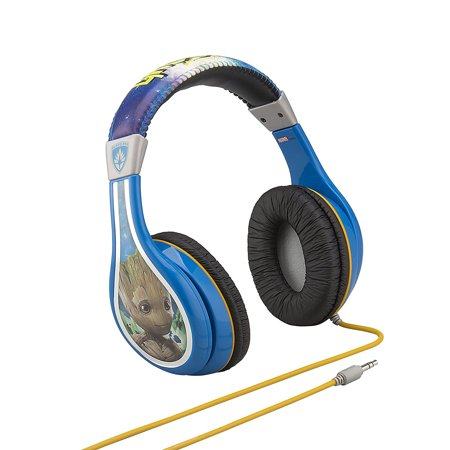 Guardians Of The Galaxy Vol 2 Groot Kid Friendly Headphones With Built In Volume Limiter