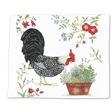 Cottage Towel - Alice's Cottage ACU34425 Rooster Single Flour Sack Towel