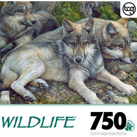 The Canadian Group 750-piece Wildlife: Three Amigos](Wildlife Puzzles)