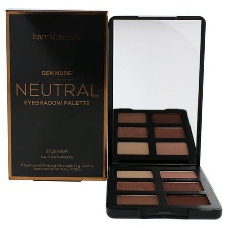 Gen Nude Eyeshadow Palette - Neutral by bareMinerals for Women - 0.18 oz Eye Shadow