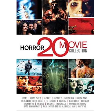 Horror 20 Movie Collection (DVD) - Halloween Horror Movies On Netflix