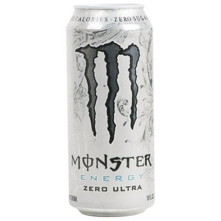 Monster Zero Ultra Energy Drink, 16 Fl. Oz.