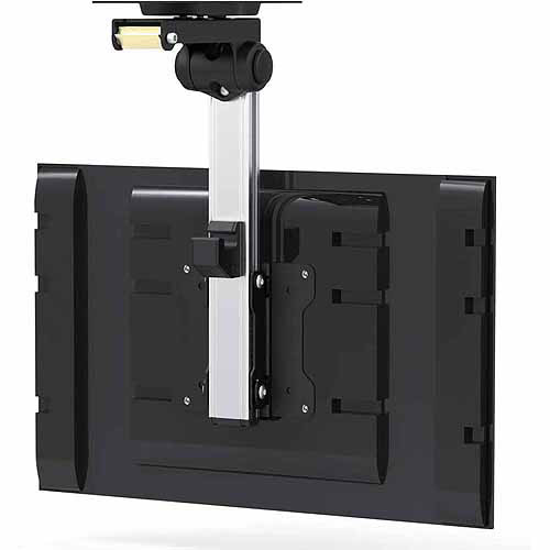 "Arrowmounts Folding Ceiling Under-Cabinet TV Mount for 13""-27"" TVs"