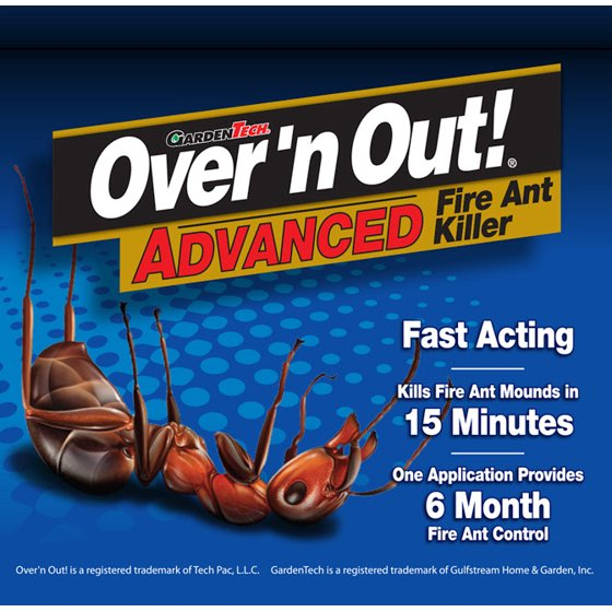 Over N Out Advanced Fire Ant Ready To Use Granules 23 Pounds