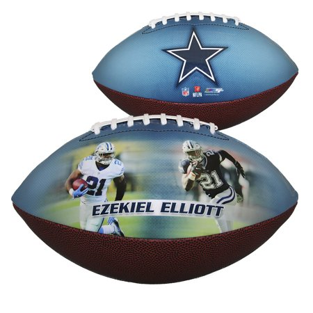 Dallas Cowboys Ezekiel Elliott Player Photo Collectible Football - No Size](Dallas Cowboys Inflatable Football Player)