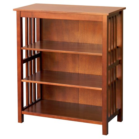 Wooden 36 in. Bookcase