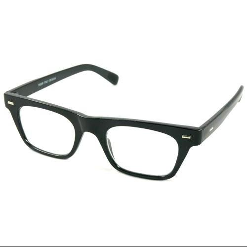 Readers.com | The Madden Retro Square Men's & Women's Full Frame Reading Glasses