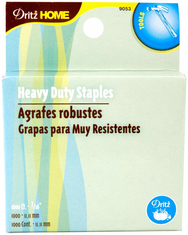 "Heavy-duty Staple Gun Refills 7 16""-1000 pkg by Dritz"