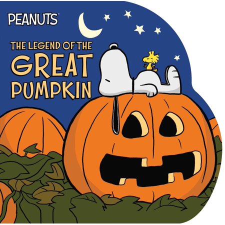 Legend of the Great Pumpkin (Board Book) - Snoopy Great Pumpkin