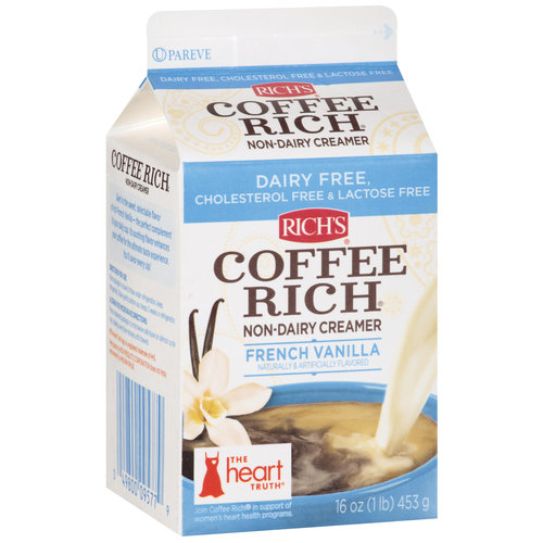 Rich's Coffee Rich French Vanilla Non-Dairy Creamer, 16 oz