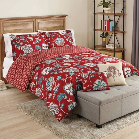 Better Homes And Gardens 5 Piece Cotton Bedding Comforter