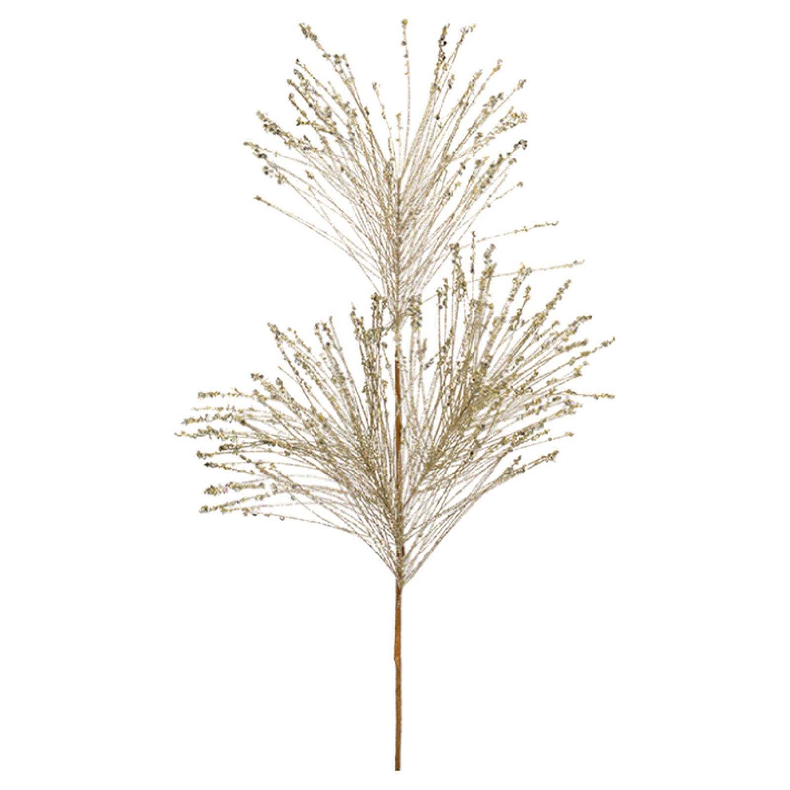 Melrose Pine with Sequin Spray - Set of 12