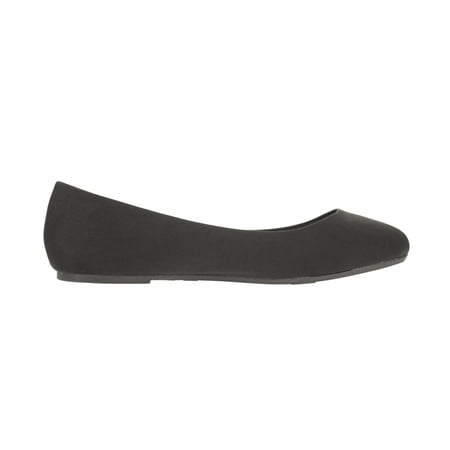 9ddb83e32251 Time and Tru Women s Medium and Wide Width Basic Ballet Flat