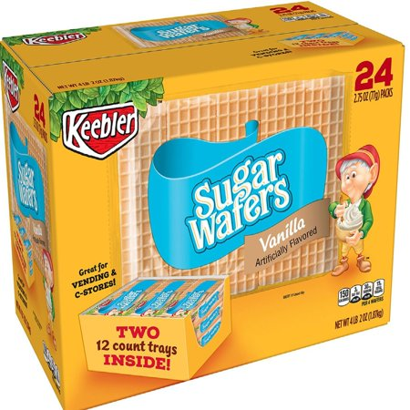 Keebler Sugar Wafers (2.75 oz., 24