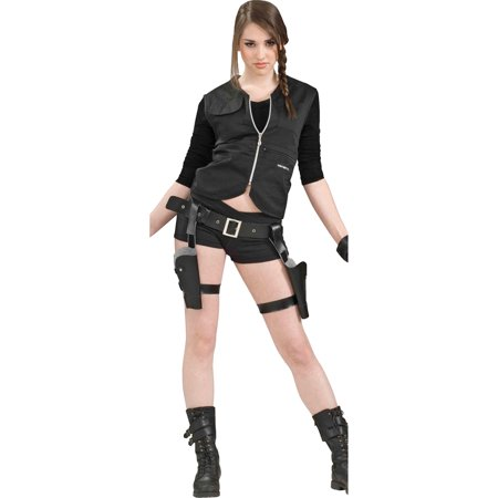 Morris Costumes Womens Holster & Guns Complete Huntress Costume, Style FM62598