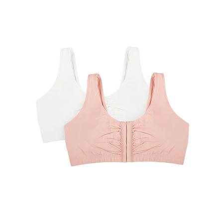 b2f48591b5e9f Fruit of the Loom - Womens Comfort Front Close Sports Bra